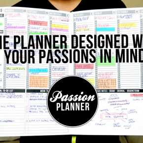 One Tool You MUST Have for 2015: The Passion Planner